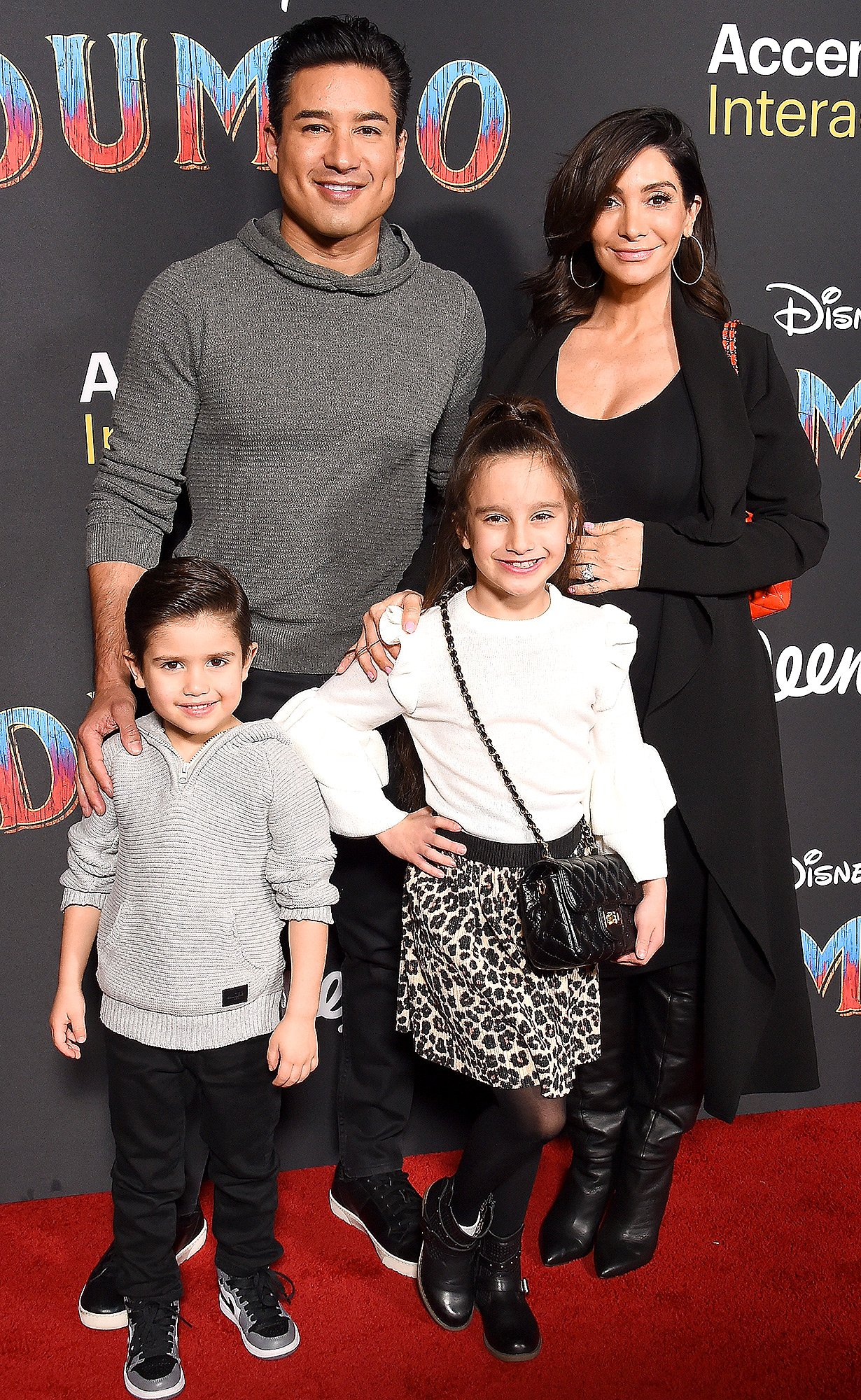 Flying High Mario Lopez Takes Pregnant Wife Courtney And